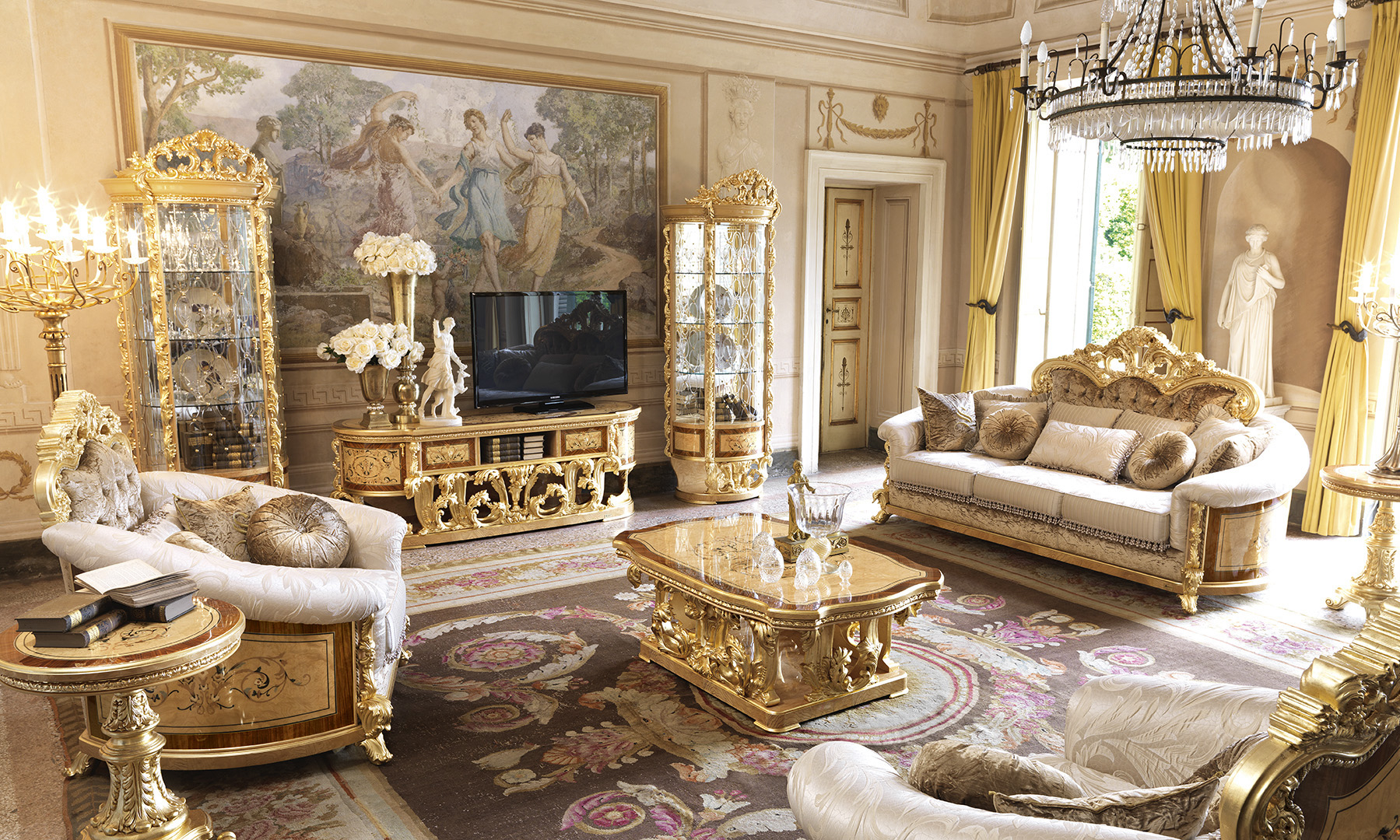 Versailles_living